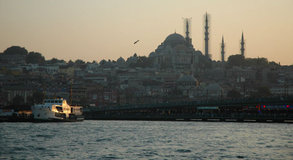Bosphorus. (turkish trip)