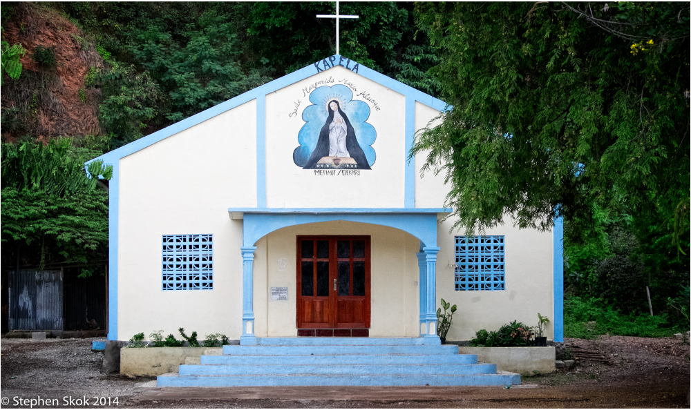 Dili Timor Leste church  Fuji X-E2