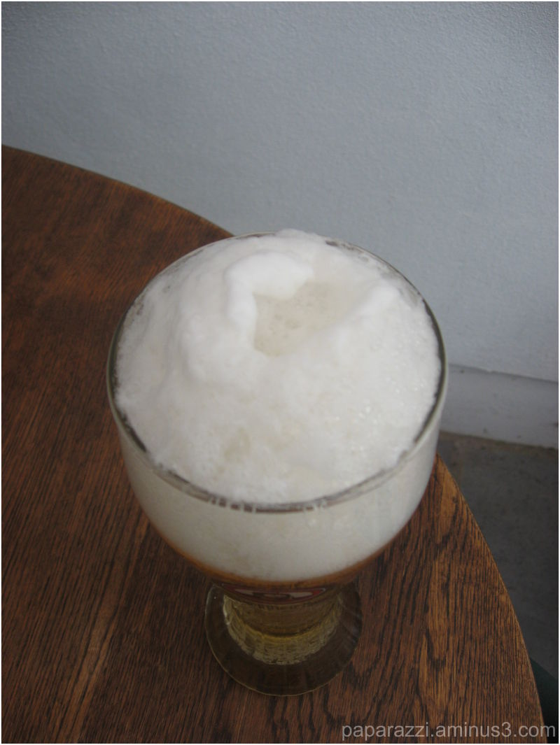a drink