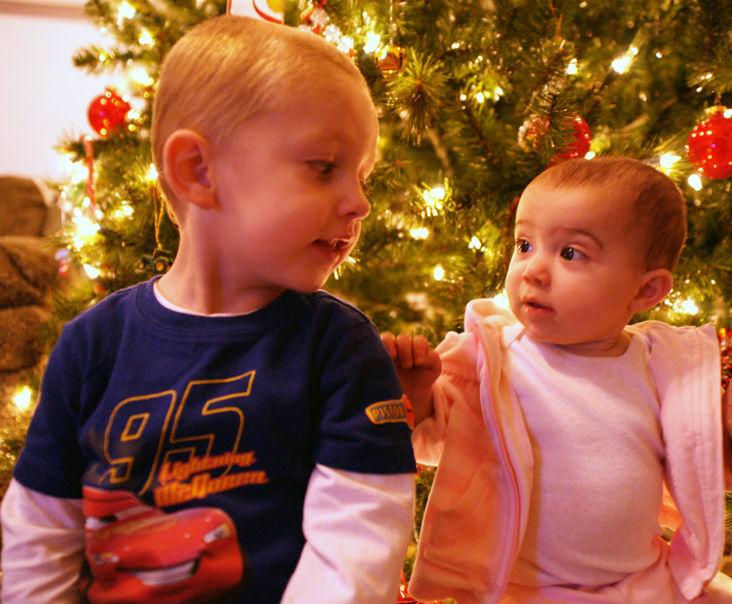 Colleen, Christmas, John