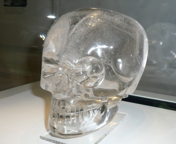 british museum crystal skull