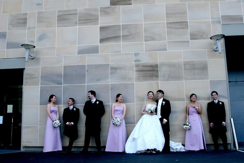 the wedding wall