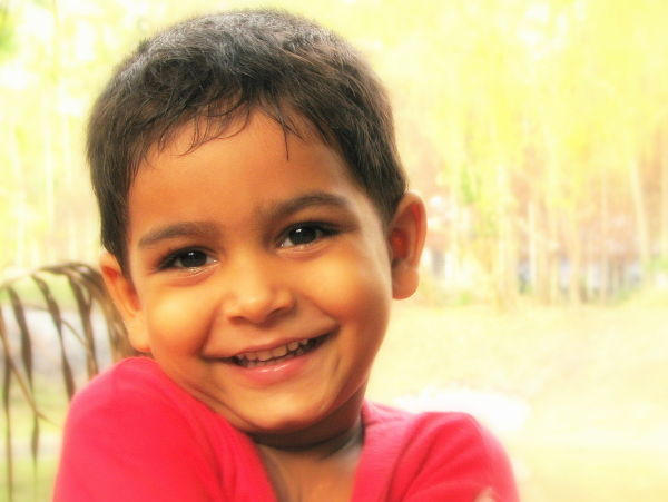 Shy smile :)