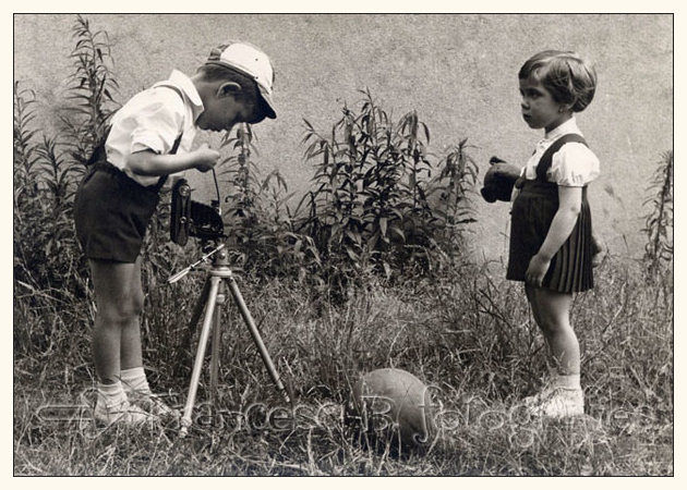 Apprenti photographe (2) - juin 1961