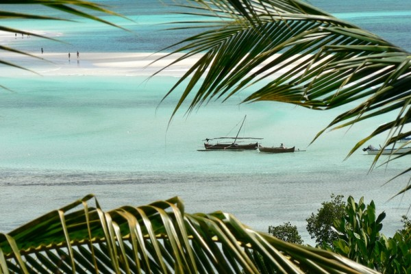 View on Nosy Iranja's Beach, Madagascar