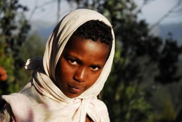 Young Oromo shepherd, Entoto, Ethiopia