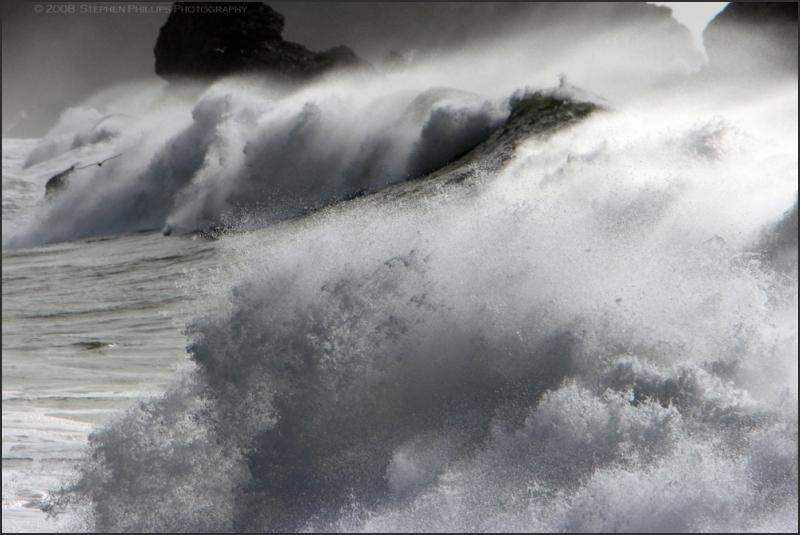 giant waves along the california coast