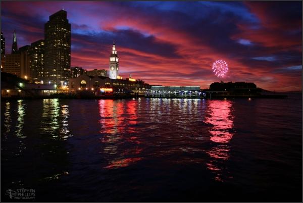 fireworks in San Francisco