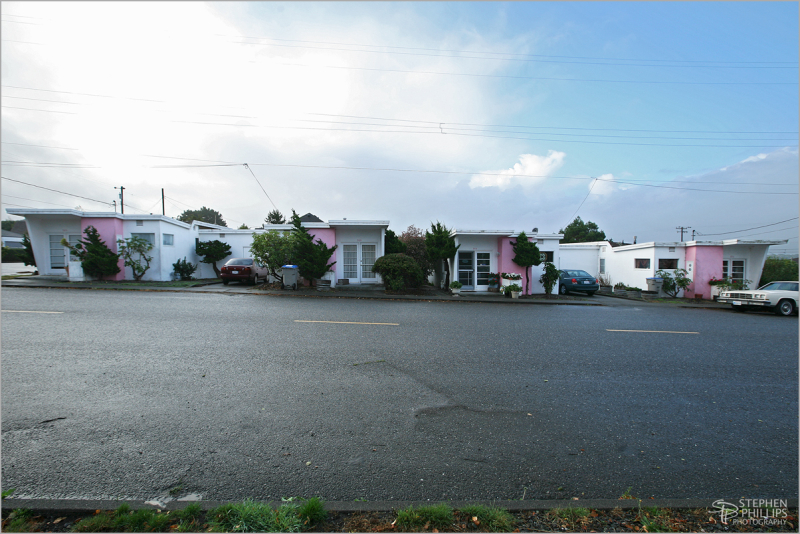 homes of Loleta, California - a quad-plex