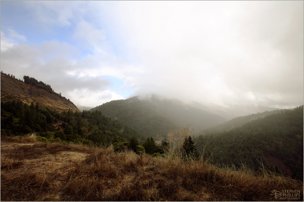 Rain Squalls near Leggett, California