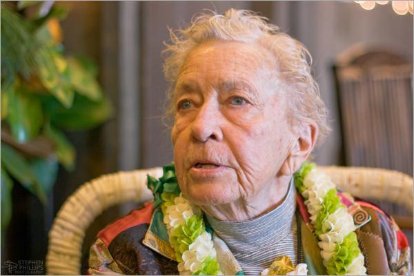 Jean Gleason at Ninety