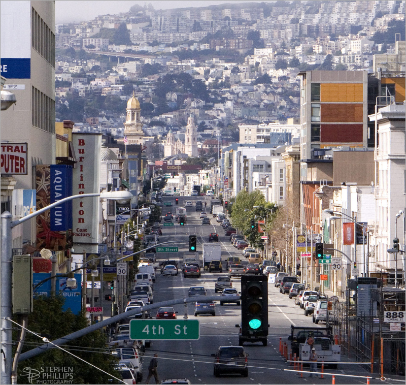 Howard Street and South-of-Market in San Francisco