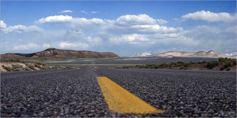 The Loneliest Highway in America - Nevada