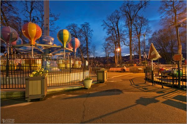 Oaks Park rollerskating rink