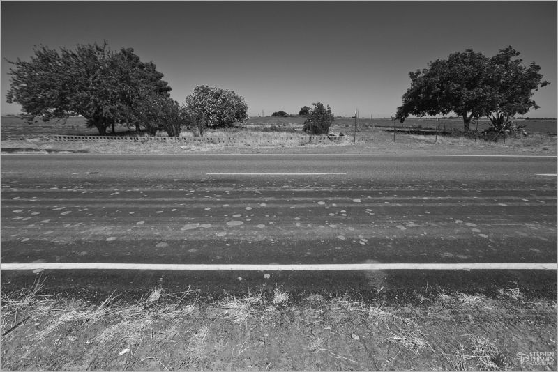 site of a demolished home in the Sacramento Valley