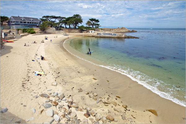 Lovers Point in Pacific Grove, California