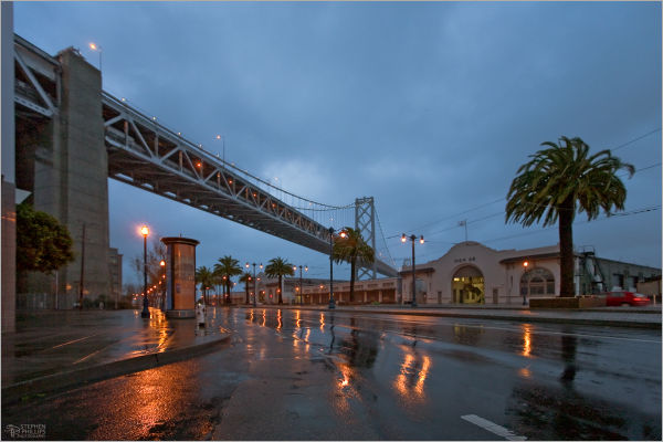 Stormy morning in San Francisco