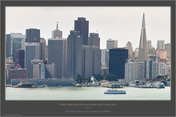 waterfront of downtown San Francisco