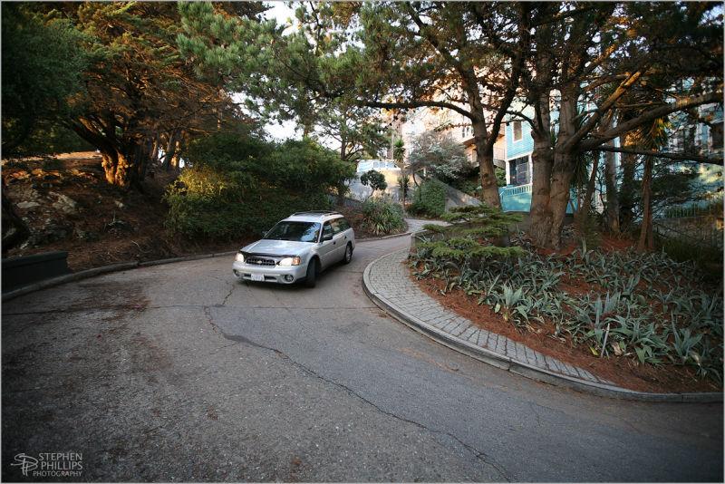 Vermont Street on Potrero Hill in San Francisco