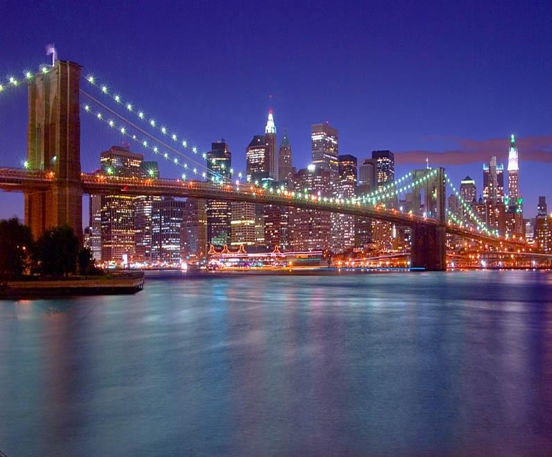Brooklyn bridge run though PS