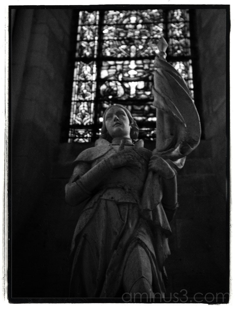 Statue Jeanne d'Arc Joan of Arc Troyes
