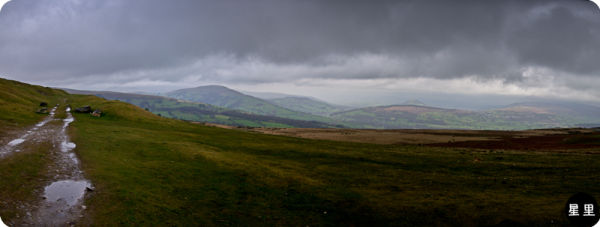 Storm over talybont