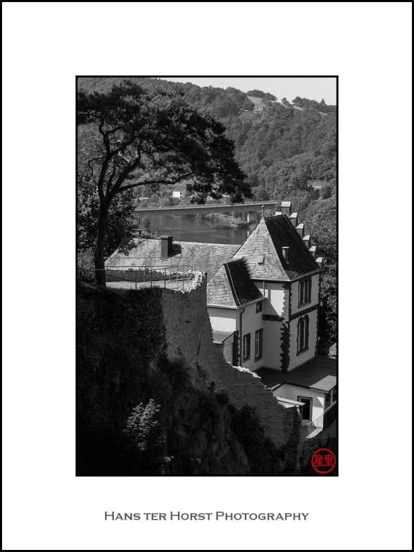 View from the Saarburg castle