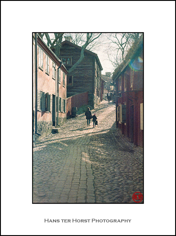Village street at Skansen