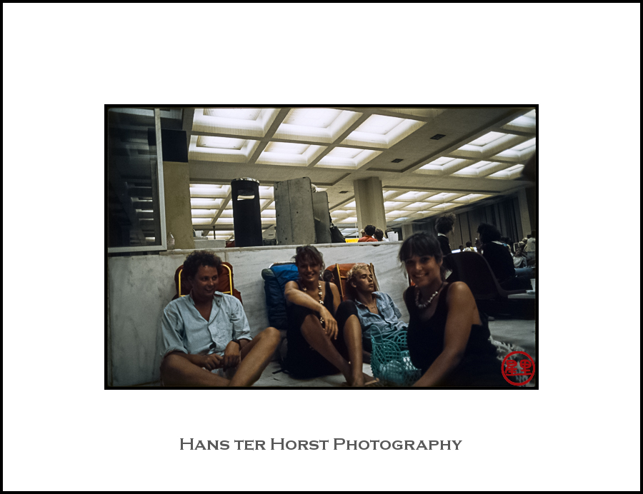 Athens airport, waiting for the flight