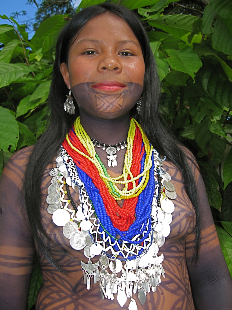 Embera girl - People & Portrait Photos - Thomas Griffioen's Photoblog