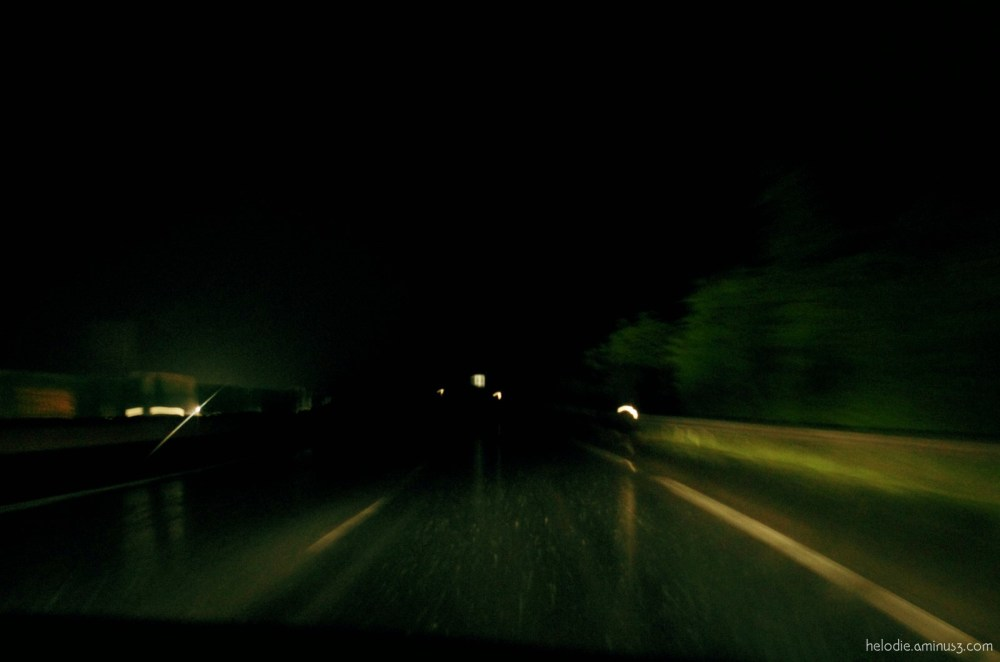 La Normandie, la nuit