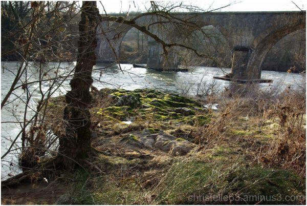 pont de blot, orbeil, voie ferrée