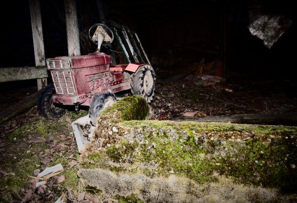 El Tractor de la Bruja de Blair