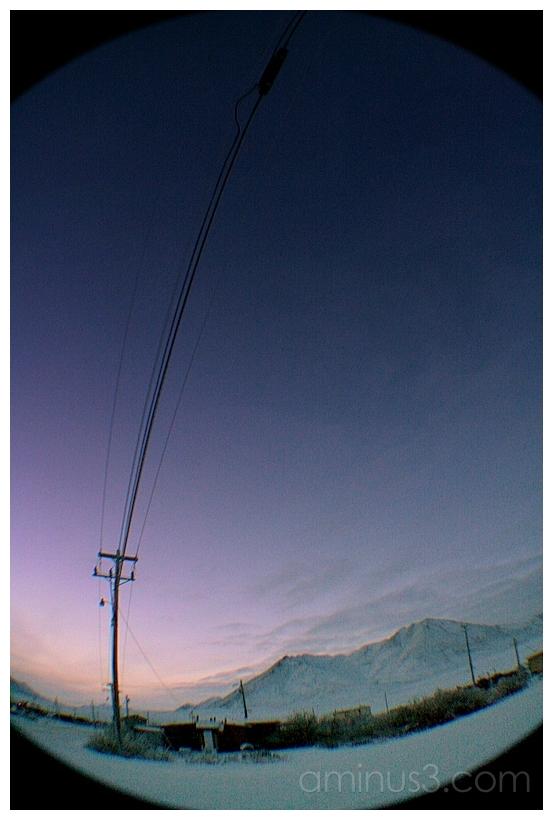 Violet Reveries, Anaktuvuk, Alaska