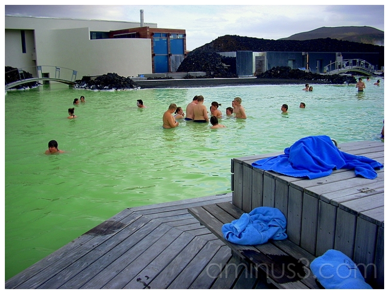 Young Norwegian Bathers, Blue Lagoon, Iceland