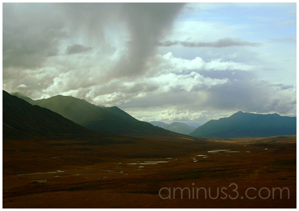 Valley Floor to the South, Anaktuvuk Pass, Alaska