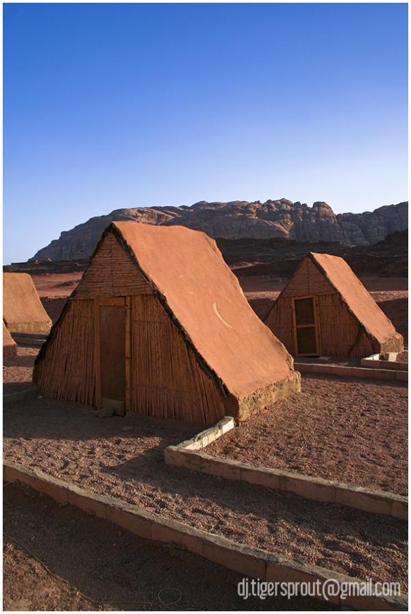 Bedouin Guest Huts, Wadi Rum, Jordan