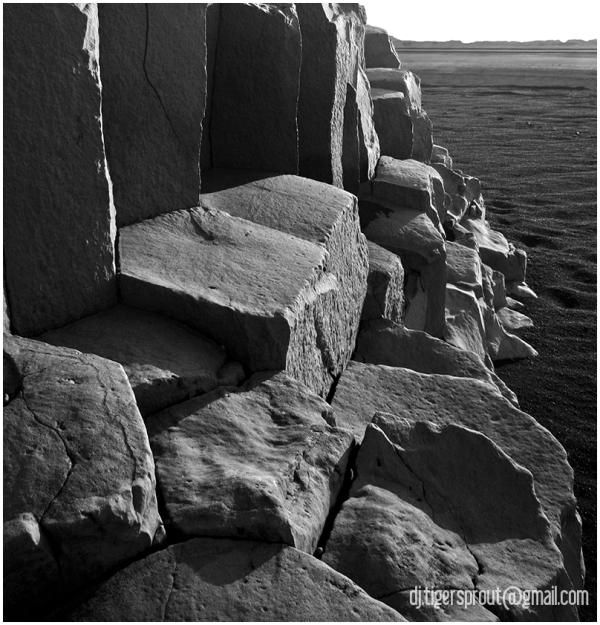 Columnar Basalt (Fine Detail), Southern Iceland