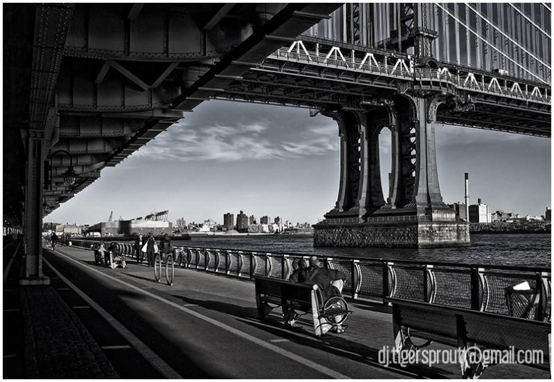 Along the East River Bikeway / Promenade, NYC