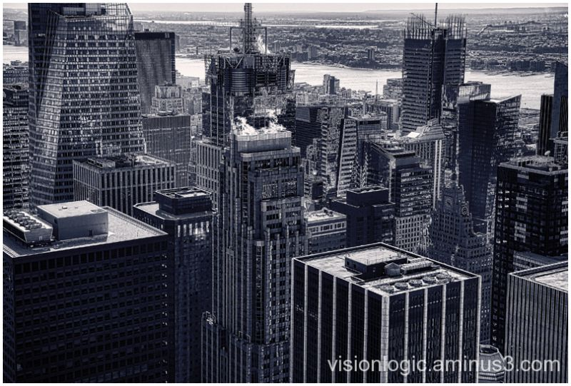 Times Square Rooftops, Top of the Rock, NYC