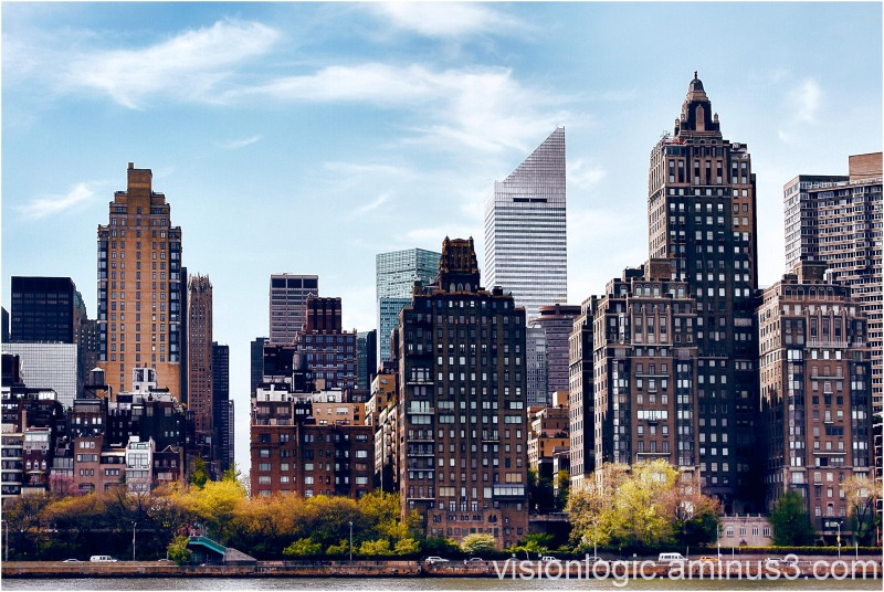 Midtown East Skyline, from Roosevelt Island, NYC