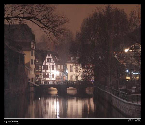 Strassburg by night Strasbourg