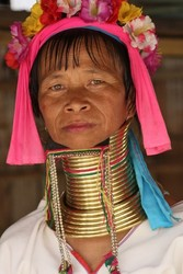 Woman in Thailand (Karen tribe)