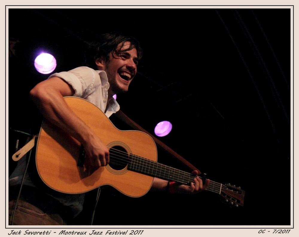 Jack Savoretti Montreux Jazz Festival 2011