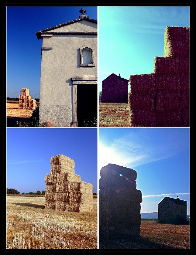 La petit chapelle dans le champs