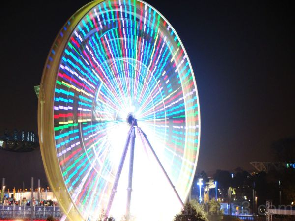 Ferris wheel on Yarra River