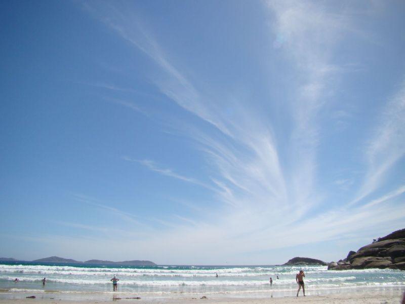 big blue sky wilson's prom squeky beach