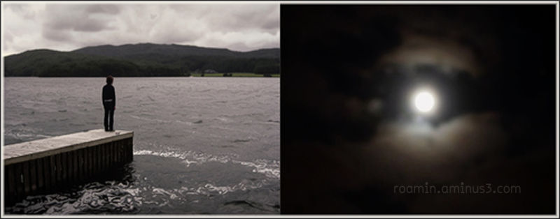 diptych moon tides eerie storm forboding roamin