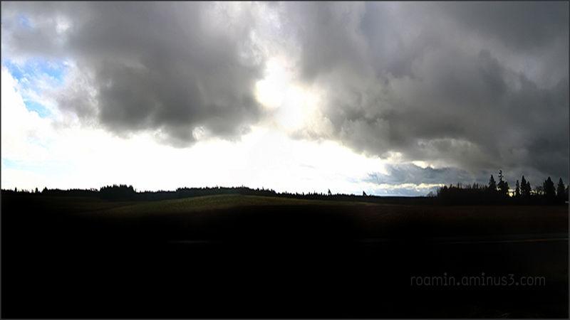 evening following-a-storm summer composite roamin