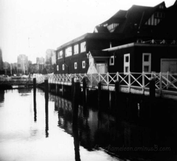 The Vancouver Rowing Club taken with Holga